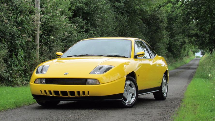 Une rutilante Fiat Coupé de pré-production à vendre