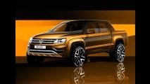 Volkswagen mostra teasers da Amarok reestilizada e confirma novo interior