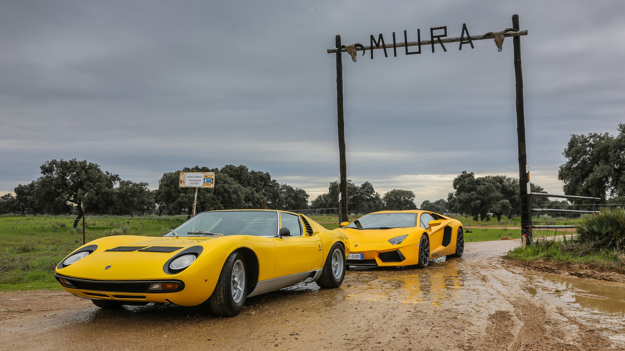 Lamborghini Miura 50th anniversary celebrations