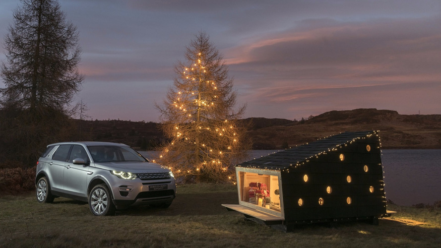 Land Rover wants to put Santa in a box