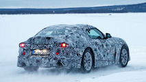 Toyota Supra Spy Shots Snow