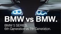 BMW 5 Serisi G30 vs F10