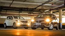 Comparativo Mobi Drive GSR x Etios X AT