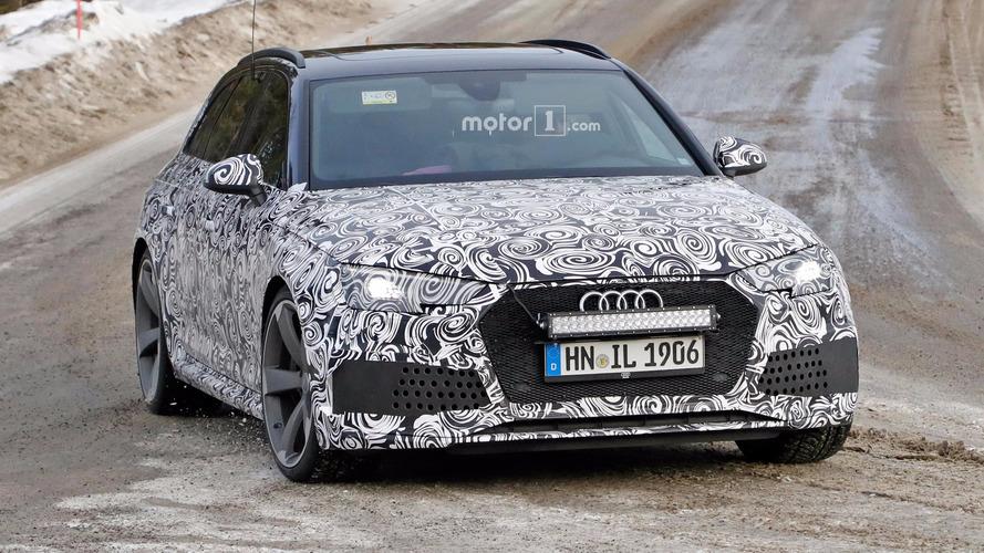 Audi RS4 Avant 2018, con motor de Porsche Panamera