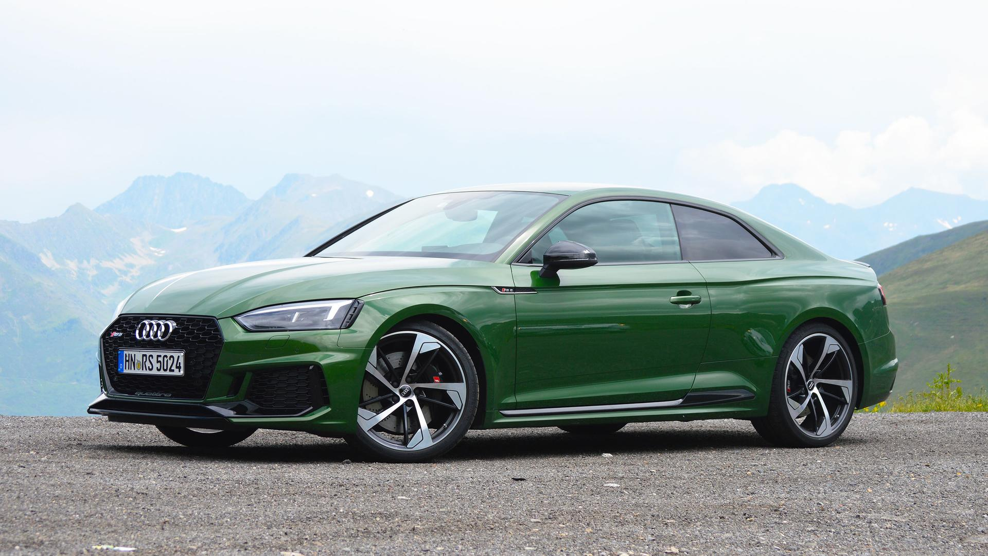 2018 Audi Rs5 Coupe First Drive Review Car And Driver
