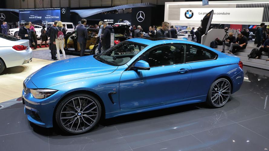 Makyajlı 2017 BMW 4 Serisi Cenevre'de