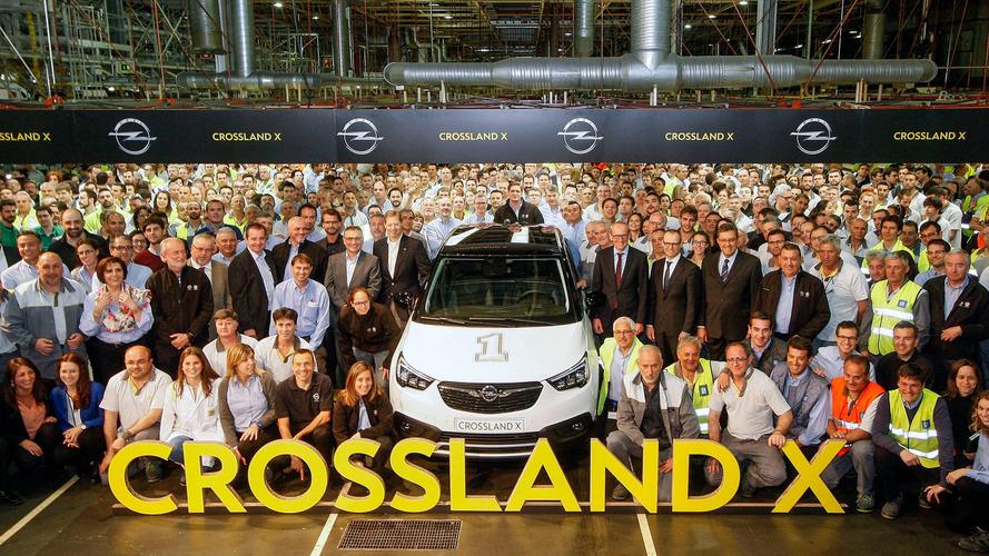 La production de l'Opel Crossland X vient de commencer