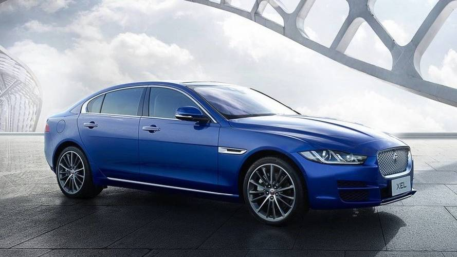 Jaguar XEL Unveiled In China With Stretched Wheelbase