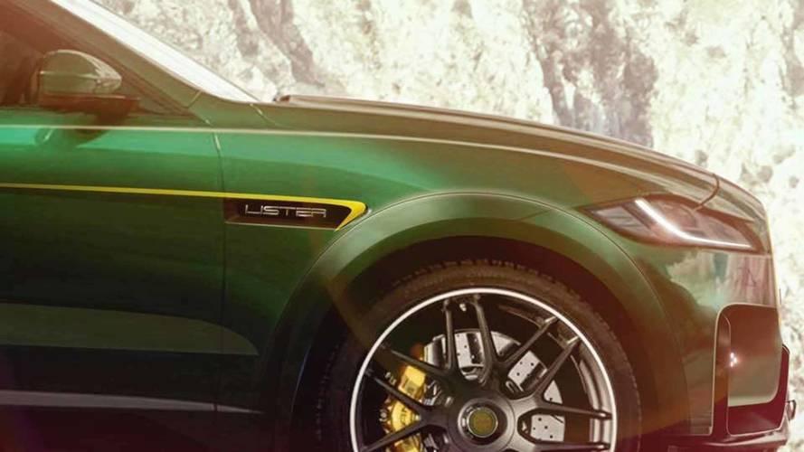 Lister prepara un F-PACE para conseguir el SUV más rápido del mundo