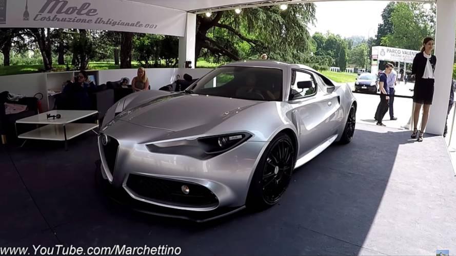 See The Wild Artigianale 001 Alfa Romeo 4C In The Real World