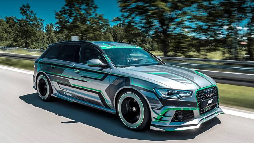 Abt Audi RS6-E Hybrid