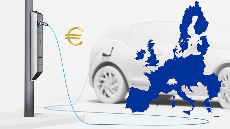 Auto elettrica, il prezzo di un pieno in Italia e in Europa