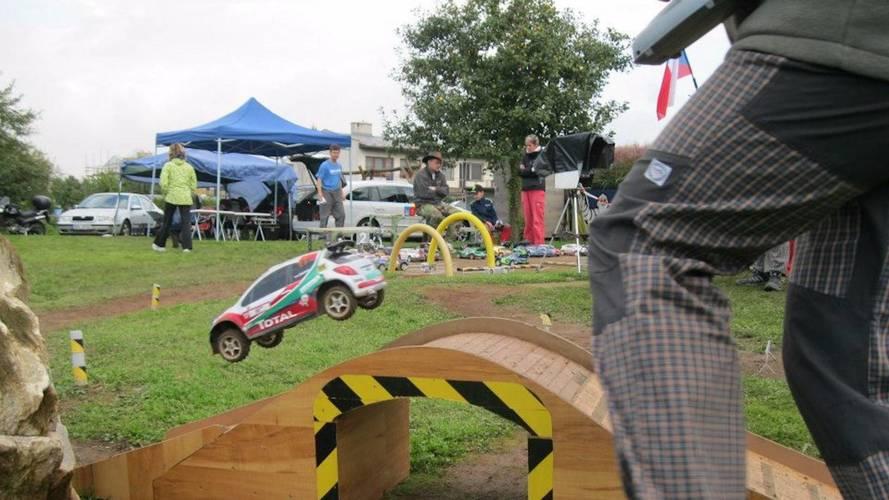 Safari Cup, pura diversión con coches de rally de radiocontrol