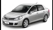 Nissan lança Tiida Sedan 2013 com câmbio automático e freios ABS por R$ 46.290