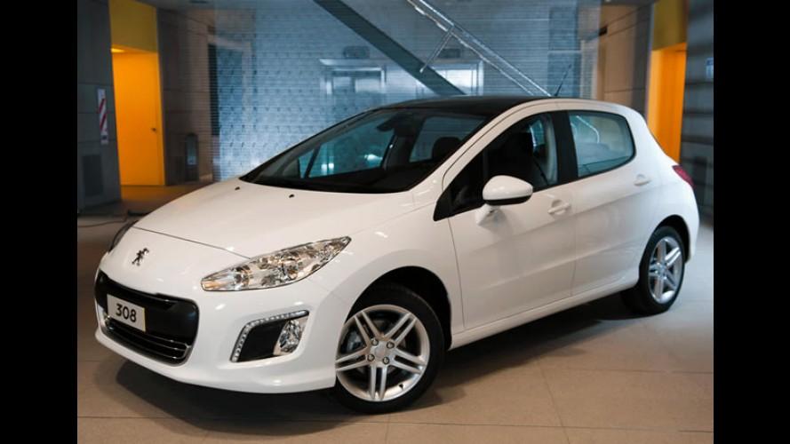 Peugeot 308 será apresentado nos próximos dias 15 e 16 de fevereiro
