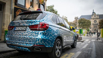 BMW X5 Concept eDrive spotted in Paris / BMW X5 Facebook