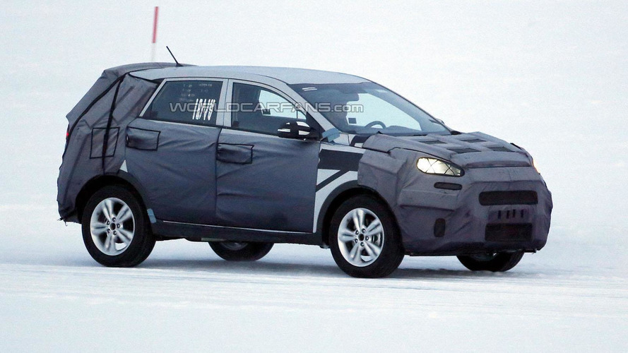 Entry-level Kia crossover spied in Europe