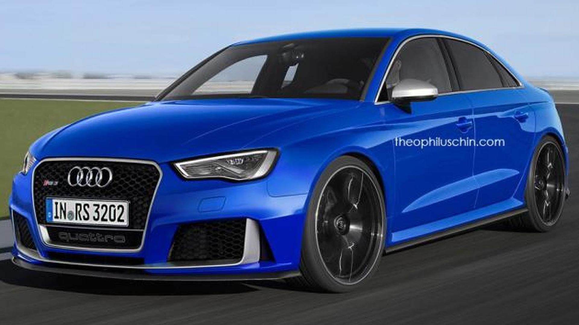 2018 audi rs3 sedan confirmed for north america. Black Bedroom Furniture Sets. Home Design Ideas