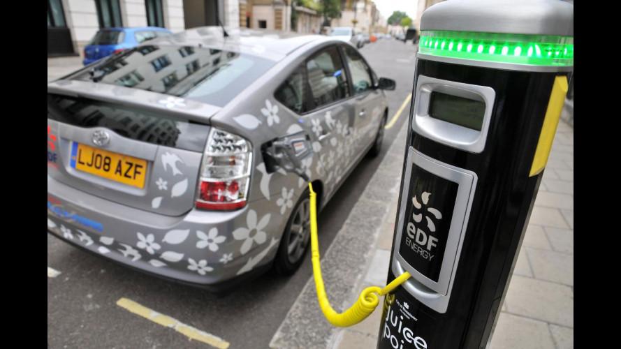 Toyota e EDF: ulteriori sviluppi per l'ibrido plug-in