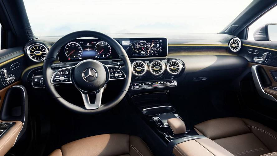 2018 Mercedes A-Class Reveals Its High-Tech Interior
