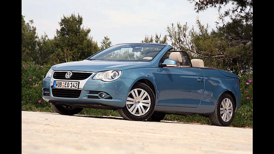VW Eos 2.0 TDI im Test: Ein Coupé-Cabrio fürs Volk wagen
