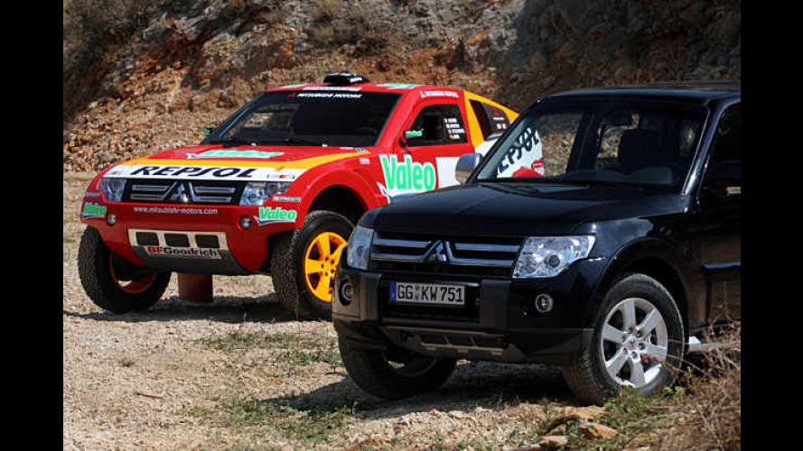 Neuauflage der Paris-Dakar-Legende: Mitsubishi Pajero