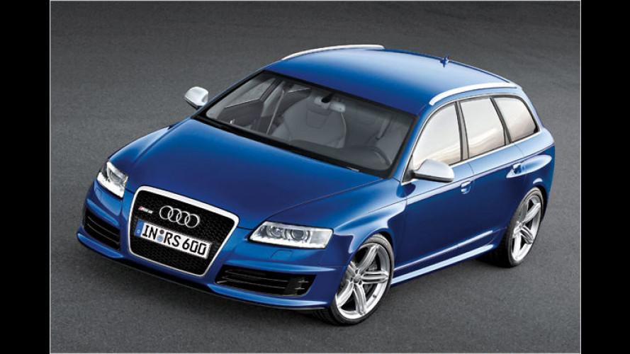 Kombi-Bolide: Audi RS 6 Avant mit 580 PS wird vorgestellt