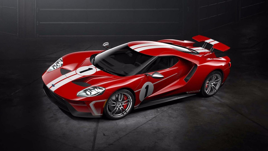 Ford GT's new Heritage theme pays homage to Le Mans '67