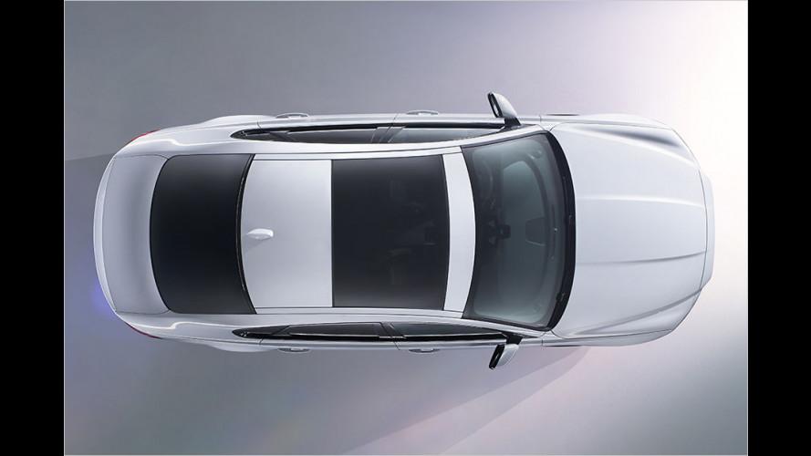 Erste Bilder des neuen Jaguar XF