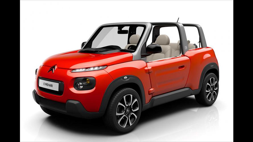 Citroën: Der E-Méhari kommt auch zu uns