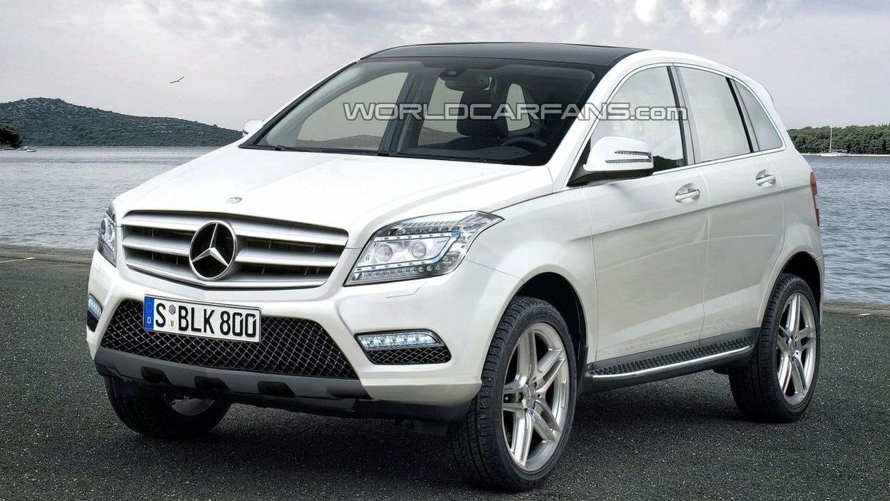 2012 Mercedes BLK/GLA Artists Rendering