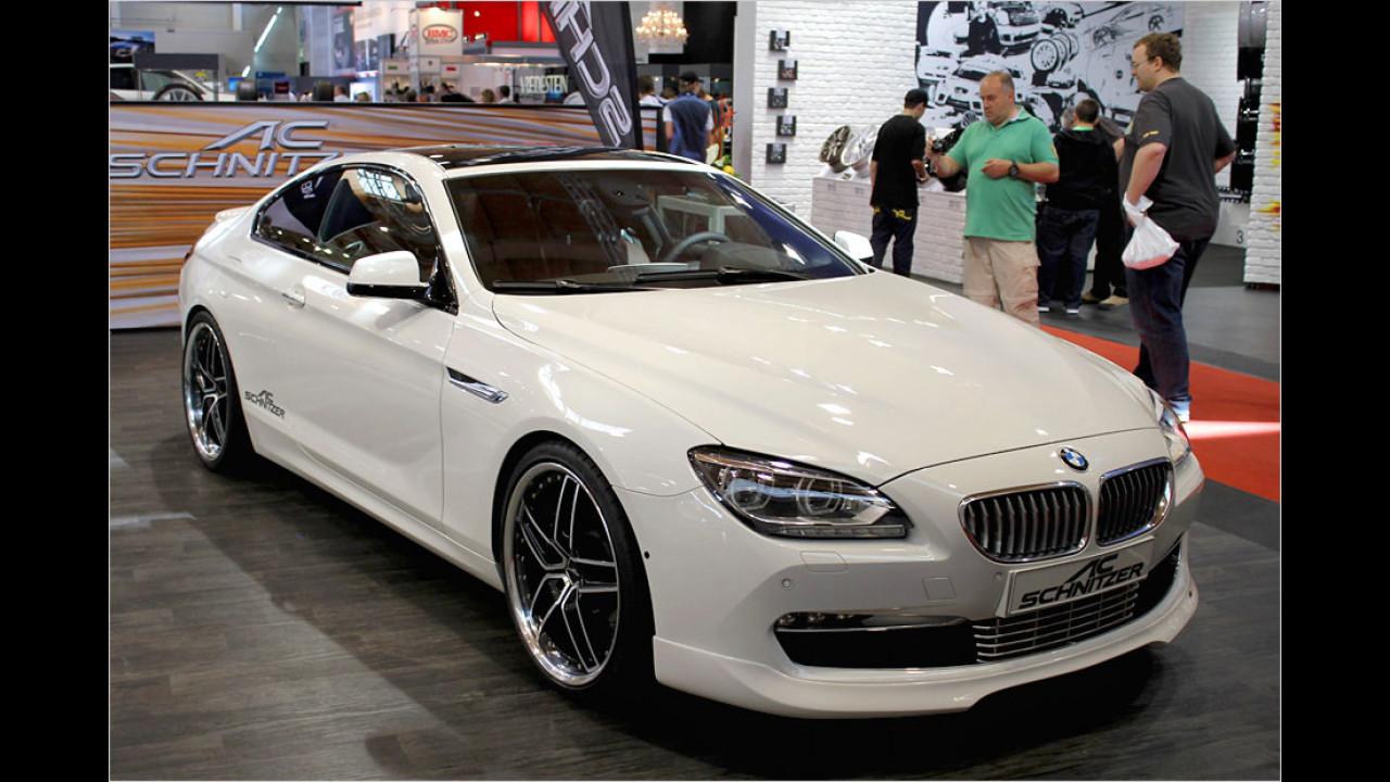 BMW 6er Coupé von AC Schnitzer: Da gibt es nicht nur eine heiße Optik, sondern auch eine fette Leistungssteigerung, beim 650i beispielsweise auf 500 PS
