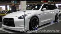 Nissan GT-R Station Wagon - Preparadora mostra como seria a perua do esportivo