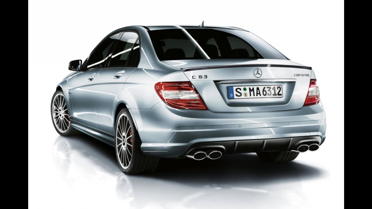Mercedes-Benz divulga o C63 AMG Performance Package Plus com 487 cv