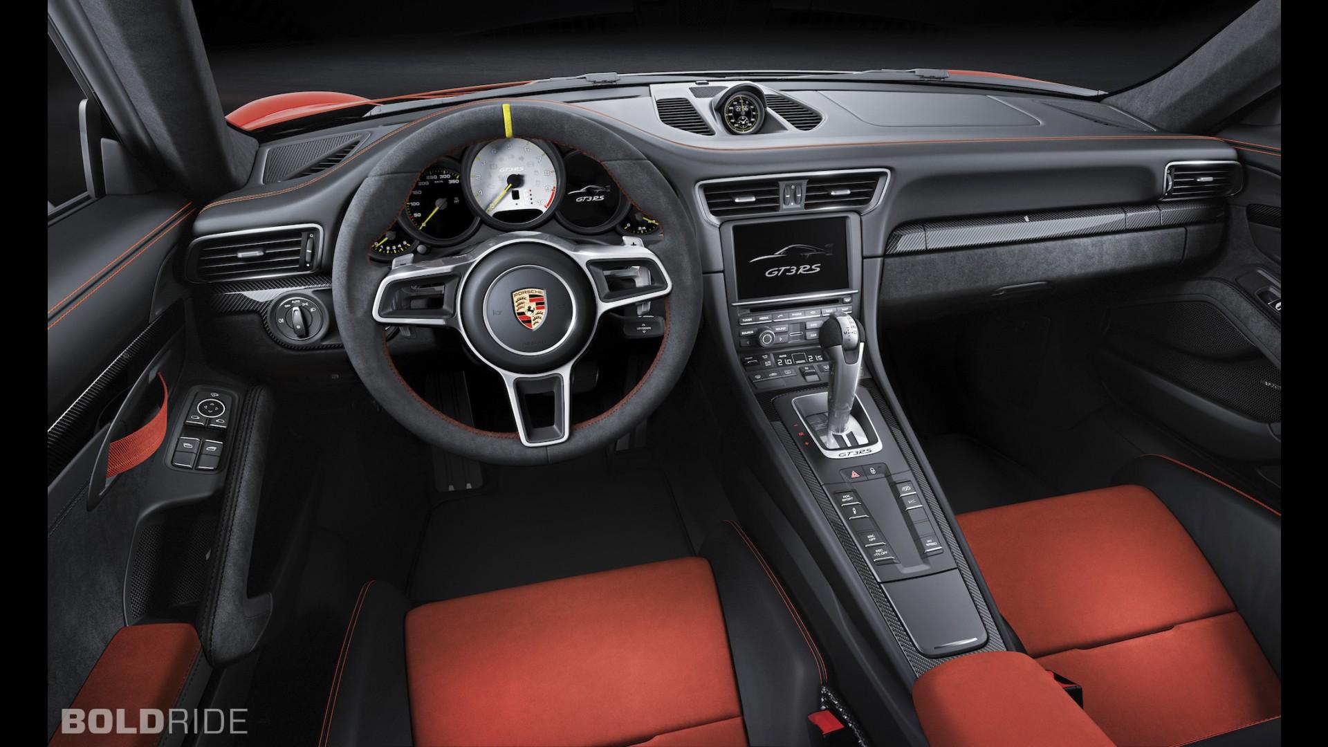 Фото салона Porsche 911 GT3 RS