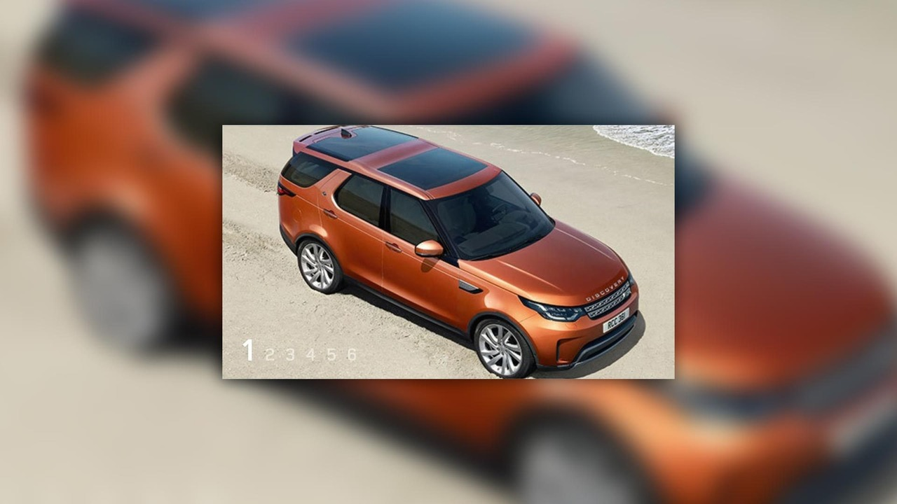 2017 Land Rover Discovery Leaked Image