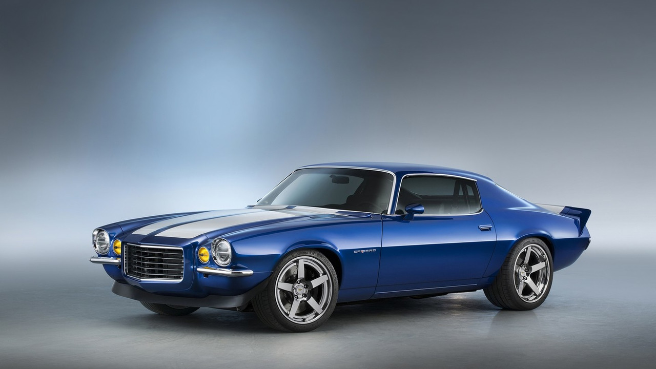 Supercharged 1970 Chevrolet Camaro RS