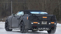 2017 Chevrolet Camaro ZL1 Convertible spy photo