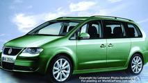 VW Sharan Next Generation Spy