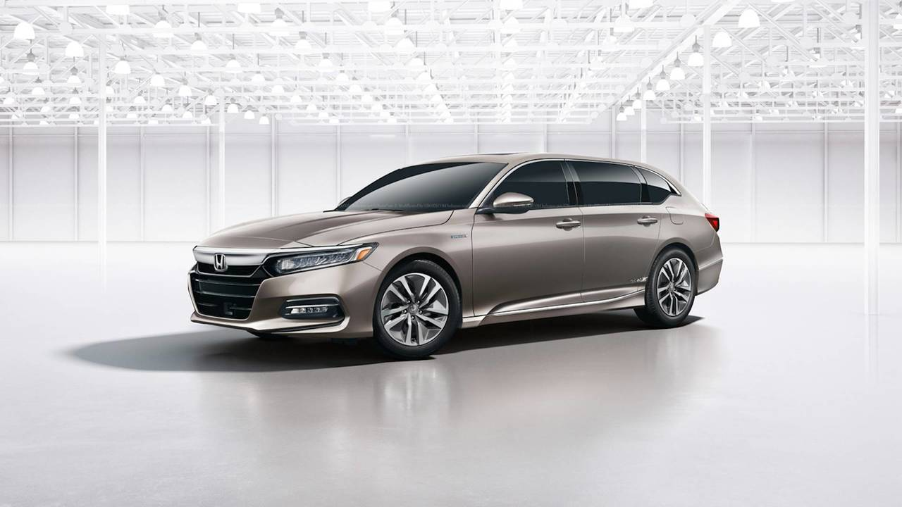 2018 Honda Accord Wagon Rendering