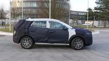 Hyundai Tucson Facelift Spy Photos