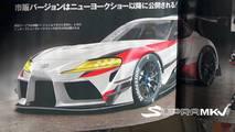 Toyota Supra aparece em revista japonesa