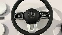 2018 Mercedes-Benz steering wheels