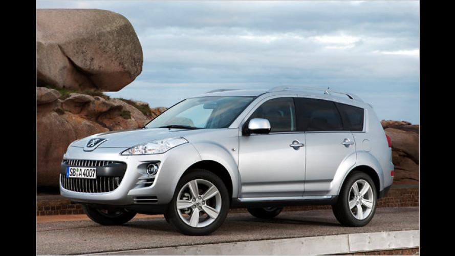 SUV-Pflege: Peugeot 4007 fit fürs neue Modelljahr