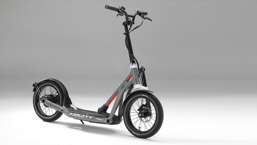 BMW X2City Kick Scooter Features Rear-Wheel-Drive Electric Power