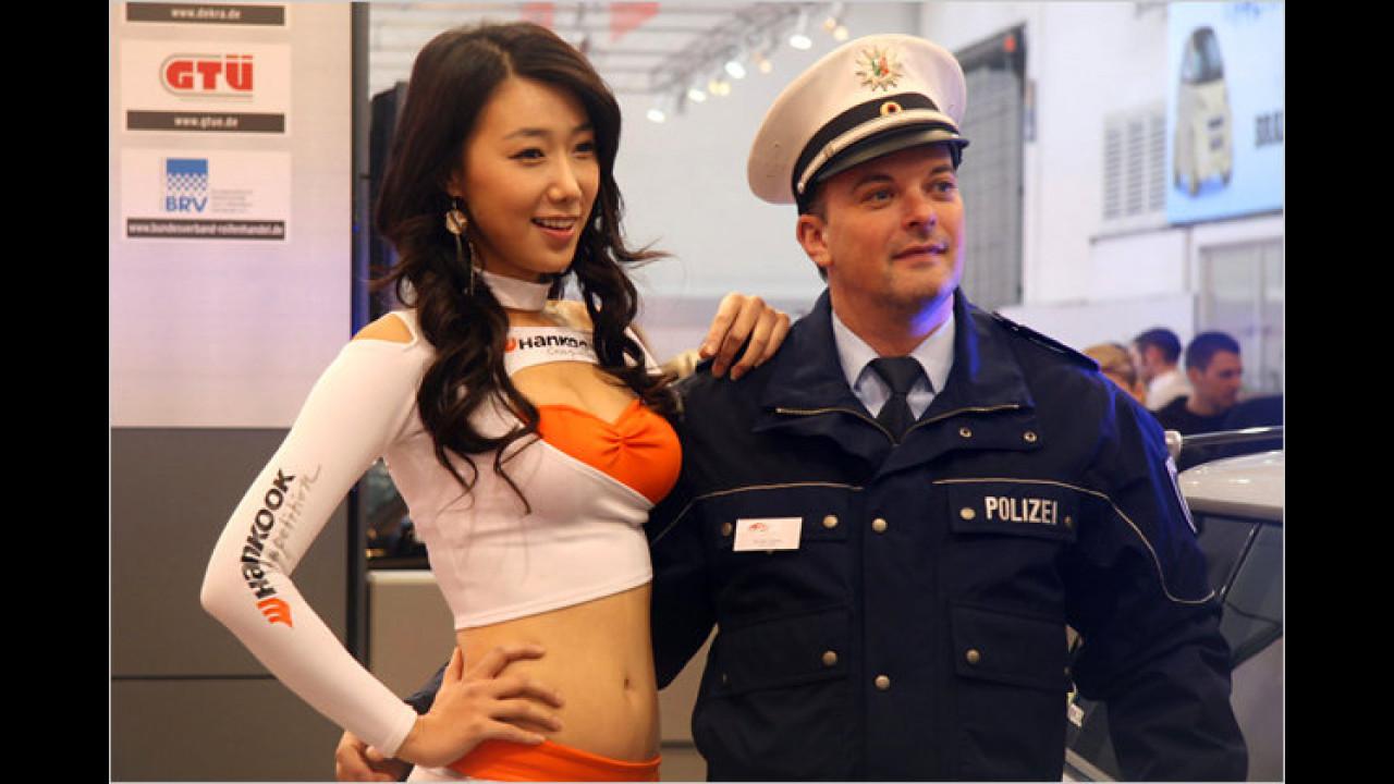 Die Polizei, Dein Freund und Helfer – auch auf der Essen Motor Show