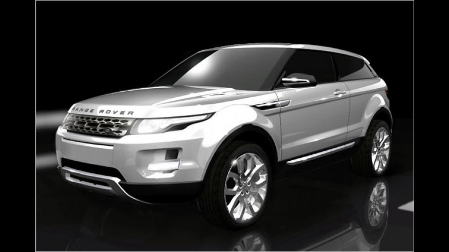 Grünes Licht: Der kleine Range Rover kommt im Jahr 2011
