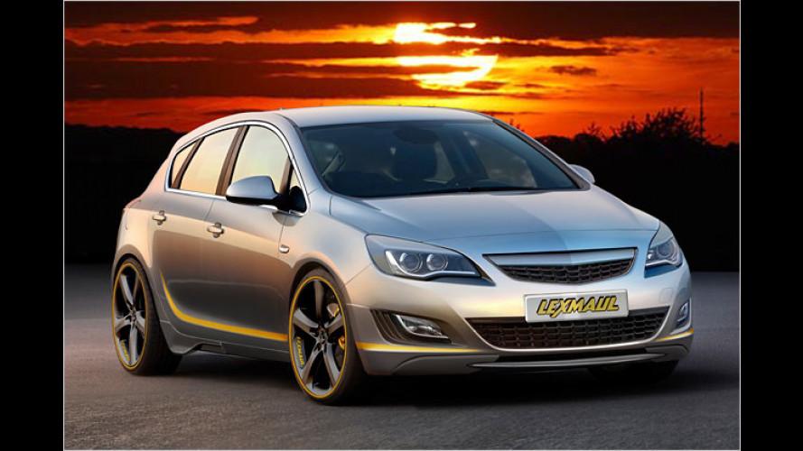 Optik-Tuning für den neuen Opel Astra von Lexmaul