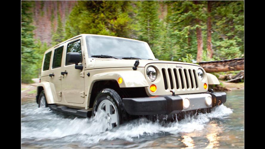 Jeep Wrangler: Neuer Innenraum und farbiges Hardtop