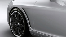 Bentley vented wings